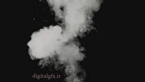 دانلود فوتیج کرماکی دود حاصل از انفجار و تخریب