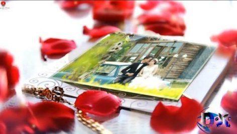 کلیپ اماده افتر افکت برای عکس و فیلم عروسی ۵۳