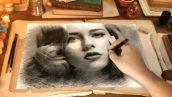 پروژه اماده نقاشی از چهره شما