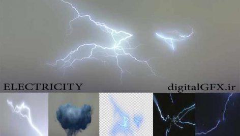 افکت ویدیویی رعد وبرق و الکتریسیته ELECTRICITY