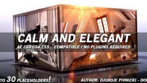 پروژه امادهCalm and Elegant