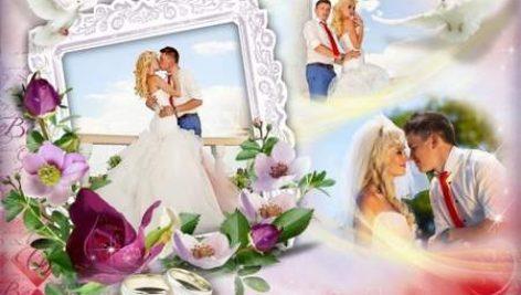 دانلود فریم و قاب عروس و داماد