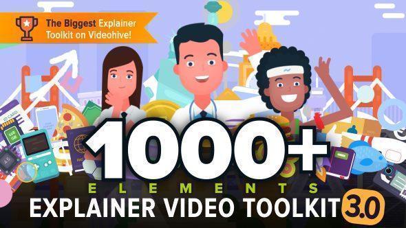 جعبه ابزار موشن گرافیک EXPLAINER VIDEO TOOLKIT 3
