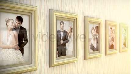 پروژه قاب عکس رومانتیک برای افتر افکت