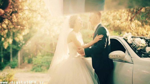 پروژه افتر افکت فیلم عروسی