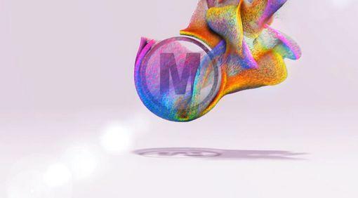 پروژه نمایش لوگو با ذرات رنگی برای افتر افکت