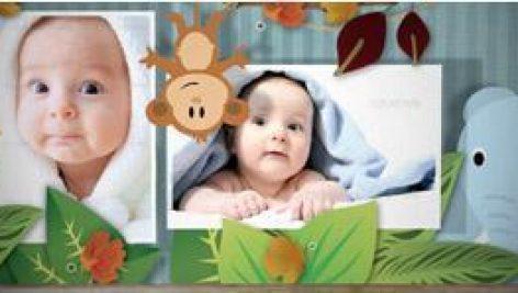 البوم عکس کودک جشن تولد,تم دختر و پسر