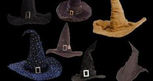 دانلود کلاه و جارو جادوگری (PNG)