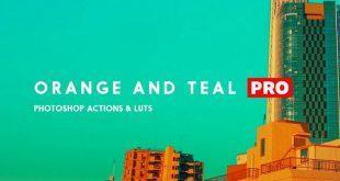 دانلود رایگان اکشن فتوشاپ: رنگی پرتقالی Orange and Teal