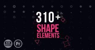 دانلود رایگان المان موشن گرافیک پریمیر: Motion Elements Pack