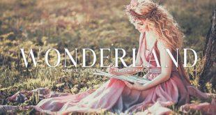 دانلود رایگان پریست لایت روم : Wonderland Lightroom Presets