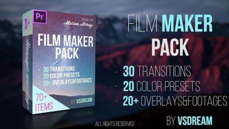 دانلود رایگان پریست پریمیر : Film Maker Pack. 70+ Items