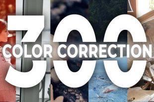 دانلود رایگان ۳۰۰ پریست اصلاح رنگ پریمیر