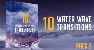 دانلود ترنزیشن موج اب Water Wave Transitions Pack 2
