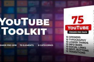 دانلود رایگان پروژه اماده پریمیر : جعبه ابزار یوتیوب