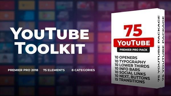پروژه اماده پریمیر جعبه ابزار یوتیوب