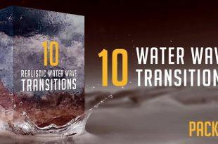 دانلود ترنزیشن موج اب Water Wave Transitions Pack 3