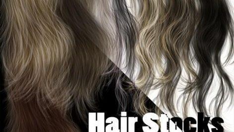 دانلود لایه باز مدل مو hair psd