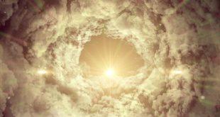 دانلود استوک فوتیج موشن گرافیک ابر و خورشید