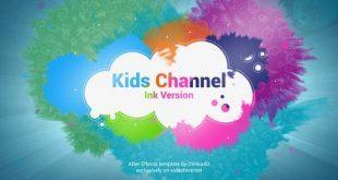 دانلود رایگان پروژه اماده افتر افکت : کانال کودکان Kids Channel