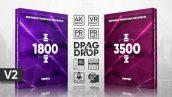 مجموعه ۵۰۰۰ ترنزیشن پریمیر transitions effects presets