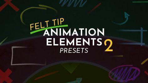 دانلود المانهای متحرک پریمیر Animation Elements 2