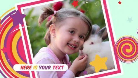گالری عکس کودکانه پریمیر Kids Photo Gallery