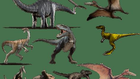 دانلود تصویر لایه باز دایناسور (png)