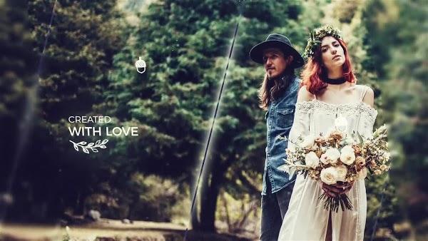 پروژه اماده افتر افکت اسلاید شو عروس Wedding Slideshow