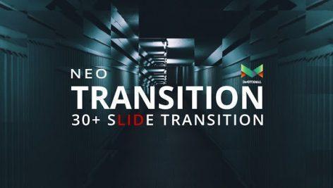 دانلود ترنزیشن افتر افکت Neo Slide Transition
