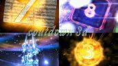 دانلود فوتیج شمارش معکوس 3D Countdown Animation with sound
