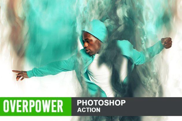 دانلود اکشن فتوشاپ غلبه بر قدرت overpower action