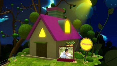 دانلود پروژه اماده کودک افتر افکت children dream