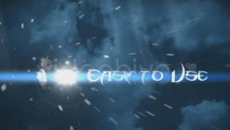 پروژه اماده افتر افکت  Cinematic Trailer