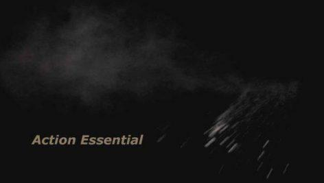 Action Essential  مجموعه ویدیوهای پاشیده شدن خاک بر اثر اثابت گلوله و ....
