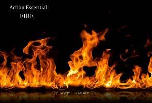 عنصر طبیعی اتش برای جلوه های ویژه در افتر افکت