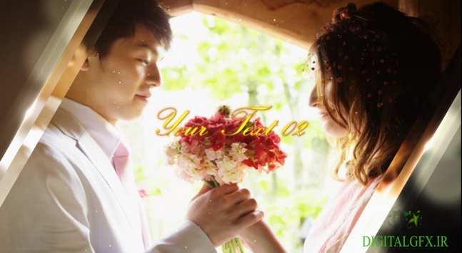 Motion Array Wedding Album 1 - اسلاید شو البوم عروسی