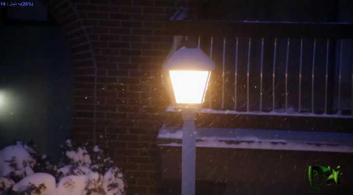 winter footage