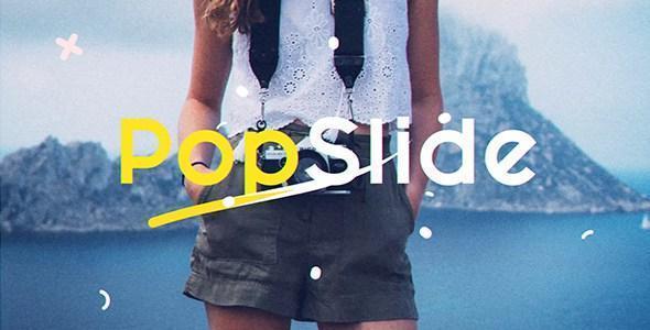 پروژه افتر افکت Pop slide