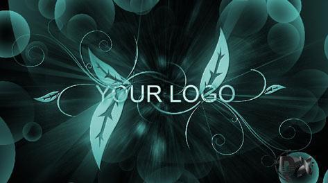 پروژه اماده افترافکت نمایش لوگو Flourish Logo