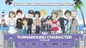 360 Character Toolkit pic 172x97 - پک ابزار ساخت موشن گرافیک ۳۶۰ Character Toolkit