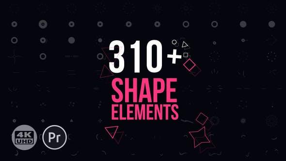 دانلود رایگان المان موشن گرافیک : Motion Elements Pack for Premiere Pro