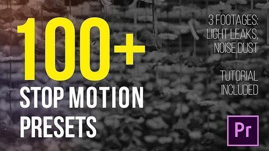 دانلود رایگان پریست پریمیر : استاپ موشن Stop Motion Presets