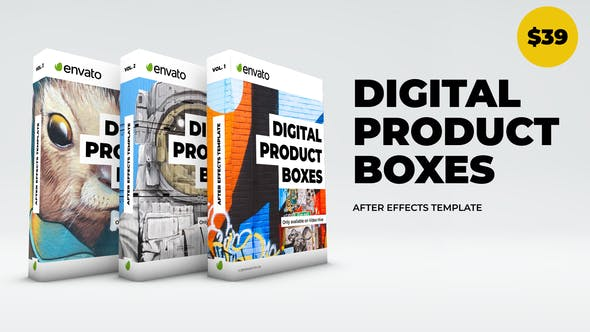 دانلود پروژه اماده جعبه دیجیتال محصول Digital Product Boxes
