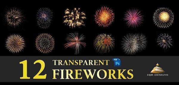 دانلود رایگان تصاویر لایه باز : اتش بازی fireworks