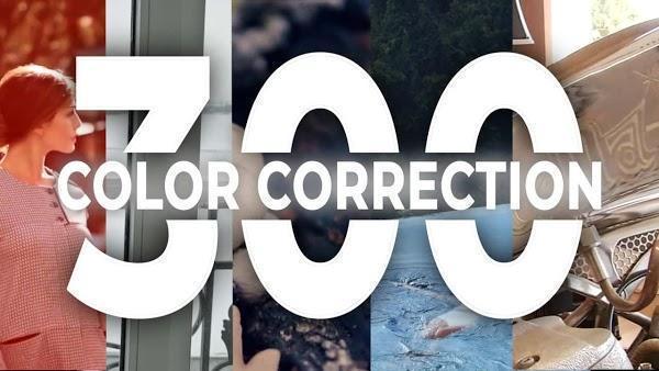 دانلود رایگان 300 پریست اصلاح رنگ پریمیر