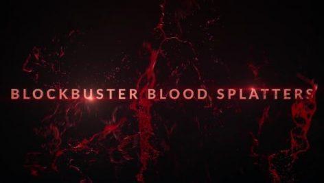 fg 472x267 - دانلود فوتیج پاشیدن خون BLOCKBUSTER BLOOD