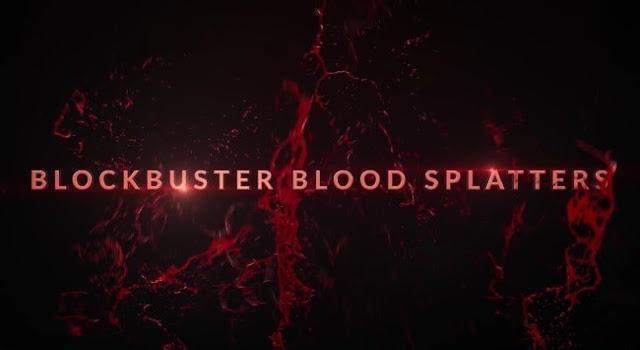 دانلود فوتیج پاشیدن خون BLOCKBUSTER BLOOD