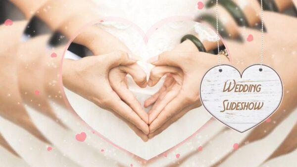 دانلود پروژه اماده افتر افکت Wedding Slideshow