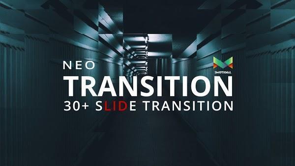 ترنزیشن افتر افکت Neo Slide Transition